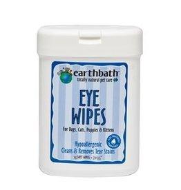 "Earthbath Earthbath Eye Wipes for Dogs- 25 count / 7x3.5"""
