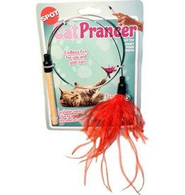 """Ethical Ethical Products Spot Cat Prancer Teaser Wand Cat toy  44"""" Random Colors and St.."""