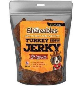 Etta Says Etta Says Shareables Human-Grade Turkey Jerky Dog Treats- 2.85 oz. Bag