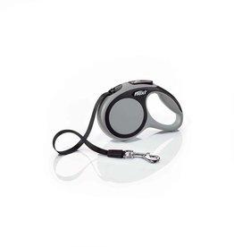 Flexi Flexi New Comfort Retractable Tape Dog Leash Grey /  X-Small-  10-ft