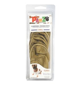Pawz Boots PAWZ Rubber Dog Boots 12 Per Pack Disposable Reusable Waterproof Shoes