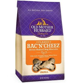 Old Mother Hubbard Old Mother Hubbard Classic Bac'N'Cheez Biscuits Baked Dog Treats- 20 OZ.