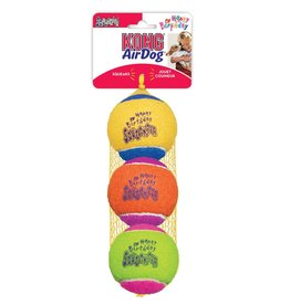 Kong KONG Squeakair Birthday Balls Dog Toy, Color Varies, 2.5-in, 3-pack