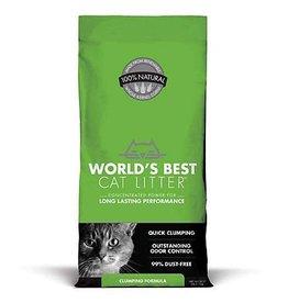 Worlds Best Cat Litter World's Best Cat Litter Clumping Formula green 28 lb