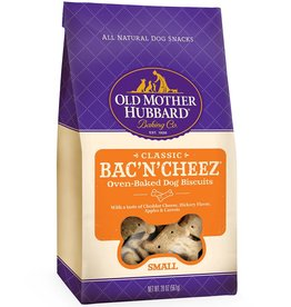Old Mother Hubbard Old Mother Hubbard Classic Bac'N'Cheez Biscuits Baked Dog Treats- SMALL/  20 OZ. Bag