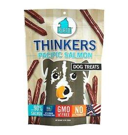 Plato Pet Treats Plato Thinkers Pacific Salmon Smart Dog Treats- 10 OZ. Bag