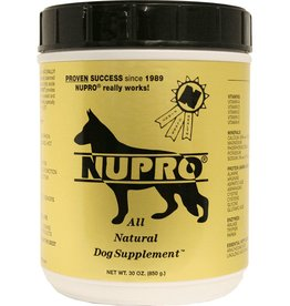 Nupro Nupro All Natural Dog Supplement 30 scoops 30 oz