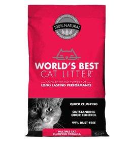 Worlds Best Cat Litter World's Best Cat Litter Scoopable Multiple Cat Clumping Formula- 14 LB