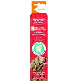 Sentry Petrodex Veterinary Strength Peanut Flavor Dog Toothpaste, 2.5-oz tube