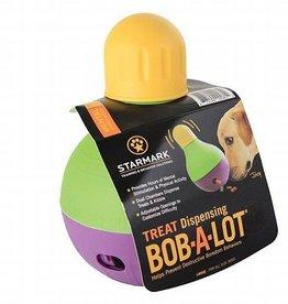 Starmark Starmark Treat Dispensing Bob-a-Lot Dog Toy- Large