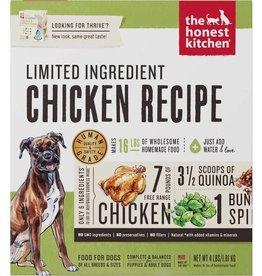 Honest Kitchen Honest Kitchen Limited Ingredient Diet Chicken Recipe Grain-Free Dehydrated Dog Food- 4 LB.