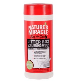 Nature's Miracle Natures Miracle Litter Box Wipes For Cats - 30 Count
