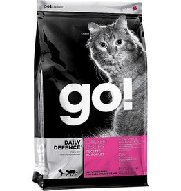 Petcurean Petcurean Go! Daily Defence Chicken Recipe Dry Cat Food- 4 LB.