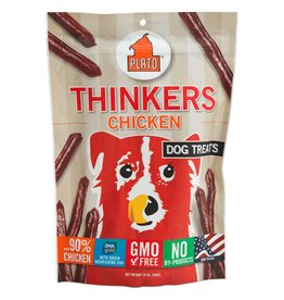 Plato Pet Treats Plato Thinkers Chicken Smart Dog Treats
