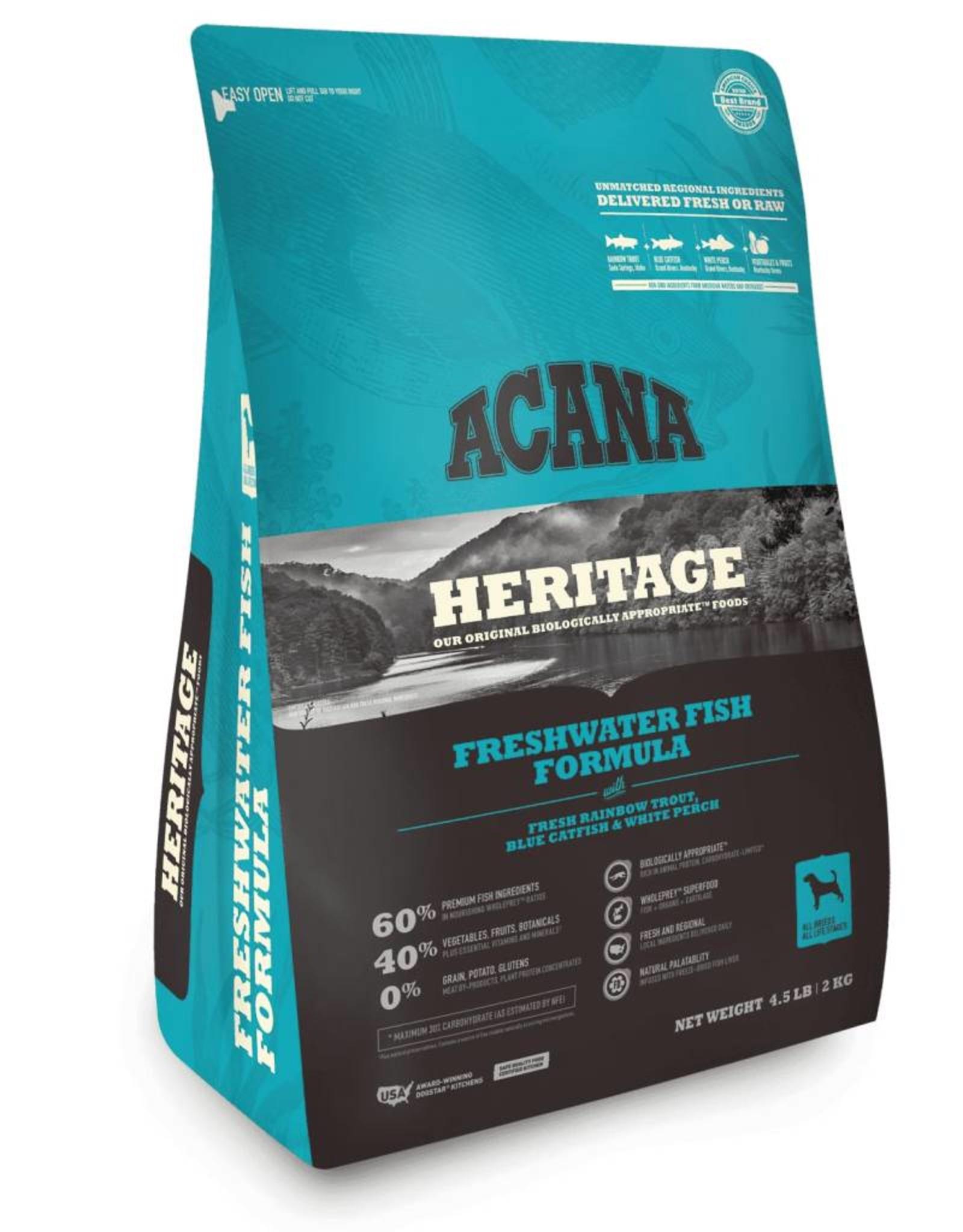 Acana Acana Heritage Freshwater Fish Formula Dry Dog Food-