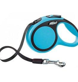 Flexi Flexi New Comfort Tape Dog Leash/ BLUE