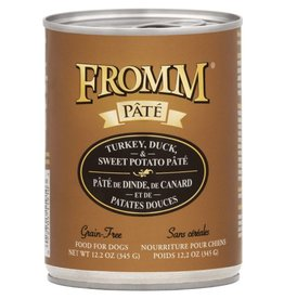 Fromm Fromm Turkey Duck & Sweet Potato Pate Canned Dog Food