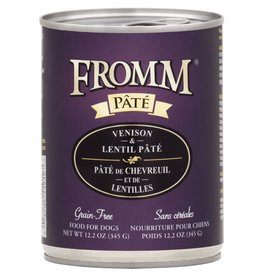 Fromm Fromm Venison & Lentil Pate Canned Dog Food