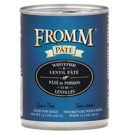 Fromm Fromm Whitefish & Lentil Pate Canned Dog Food