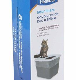 Petmate Petmate Top Entry Litter Pan Liners 8ct
