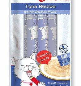 Inaba Inaba Churu Grain-Free Tuna Puree Lickable Cat Treat