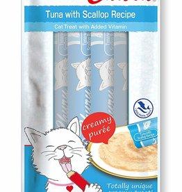 Inaba Inaba Churu Grain-Free Tuna with Scallop Puree Lickable Cat Treat