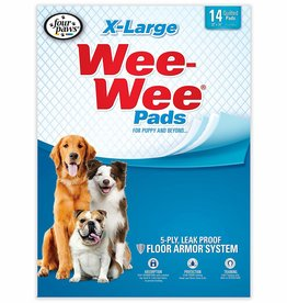 Four Paws Wee-Wee XL Puppy Pee Pads for Larger or Multiple Dogs