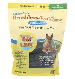 Ark Naturals Ark Naturals Breath-less Chewable Brushless Toothpaste Medium/Large 18 c