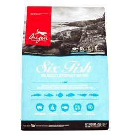 Orijen Orijen Six Fish/ Mackerel,Herring, Flounder, Red Fish, Monkfish & Silver Hake Dry Dog Food 4.5 lb