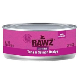 Rawz CASE RAWZ CAT SHEDDED TUNA & SALMON 5.5 oz CAN