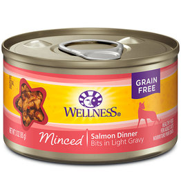 Wellness Wellness Adult Cat Minced Salmon Dinner 3 oz