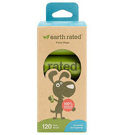 Earth Rated Earth Rated PoopBags Unscented Dog Waste Bag Refills, Pack of 8 rolls - 120 bags