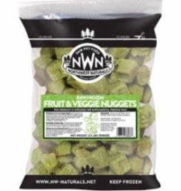 Northwest Naturals Northwest Naturals Frozen Fruit & Veggie Nugget 2#