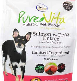 Nutrisource PureVita Salmon and Peas Grain-Free Dog Food 5 lb