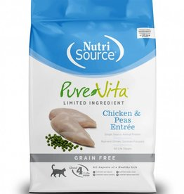 Nutrisource Nutri Source Pure Vita Grain Free Chicken & Pea Cat 2.2 lb