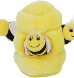 Outward Hound Outward Hound Hide A Bee Plush Dog Toy Puzzle