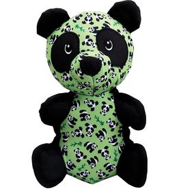 The Worthy Dog The Worthy Dog Tough Panda Dog Toy Green Large