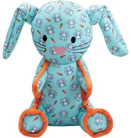 The Worthy Dog The Worthy Dog Tough Bunny Dog Toy Mint Small