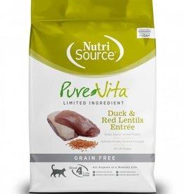 Nutrisource Nutri Source Pure Vita Duck & Lentils Cat Food 2.2 lb