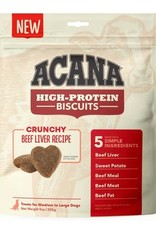 Acana Acana High-Protein Biscuits Dog Treats beef Liver Small 9 oz