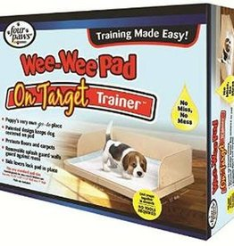 Four Paws Four Paws Wee-Wee On Target Trainer Pad Holder