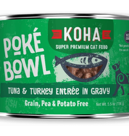 Koha Koha Cat Poke Bowl Tuna Turkey Can 5.5oz