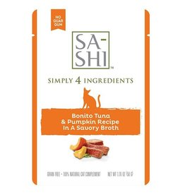 Sa-Shi Sa-Shi Tuna & Pumpkin Topper Cat 1.76 oz