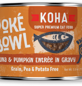 Koha Koha Cat Poke Bowl Tuna Pumpkin 5.5 oz