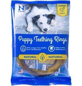 N-Bone N-Bone Puppy Teething Rings Chicken Flavor 1.2 oz