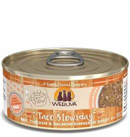 Weruva Weruva Cat Stew! Taco stewsday Beef, Chicken & Salmon 5.5 oz