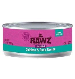Rawz Rawz Shredded Chicken & Duck 5.5 oz