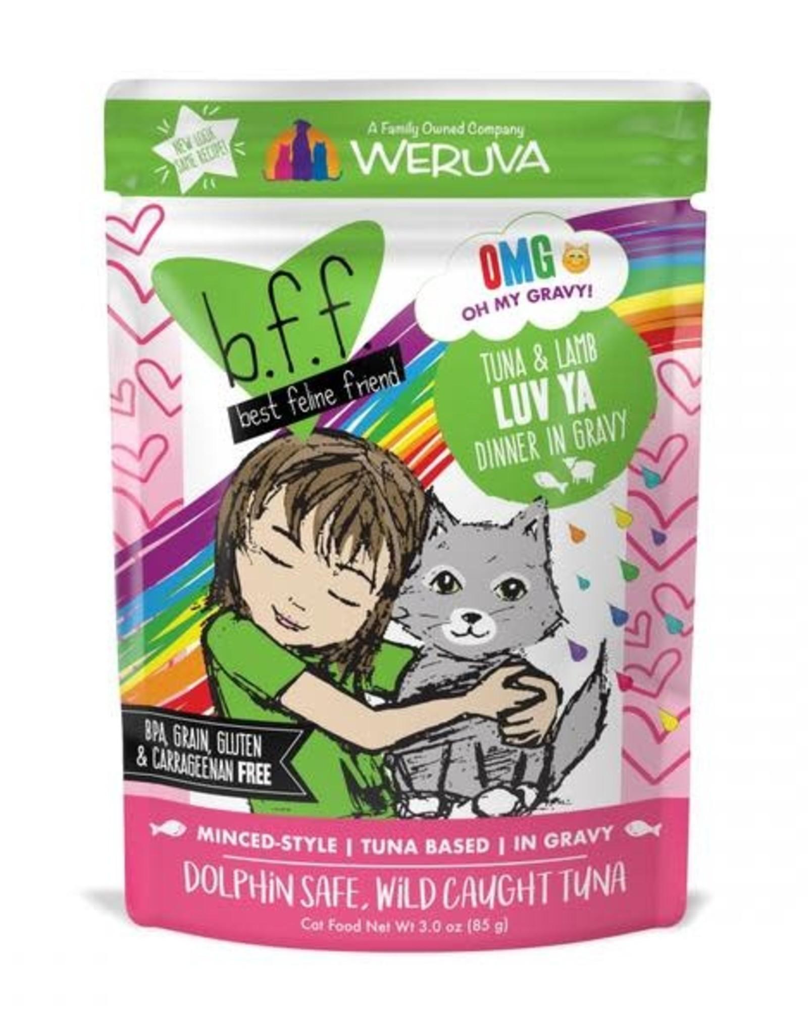 Weruva Weruva BFF Tuna & Lamb Luv Ya Cat Food Pouch 3 oz