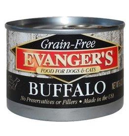 Evanger's Evanger's Grain Free Buffalo For Dogs & Cats 6 oz