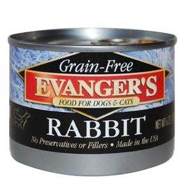 Evanger's Evanger's Grain Free Rabbit For Dogs & Cats 6 oz